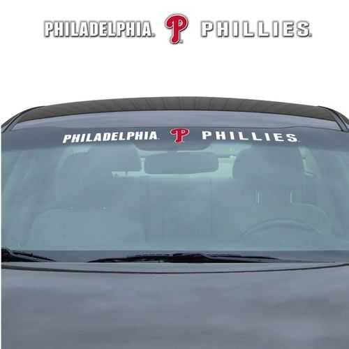 Philadelphia Phillies Decal 35x4 Windshield Special Order