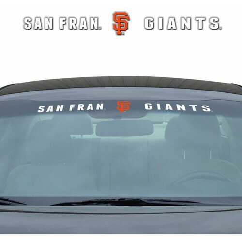 San Francisco Giants Decal 35x4 Windshield