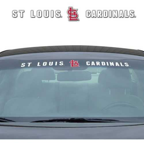 St. Louis Cardinals Decal 35x4 Windshield