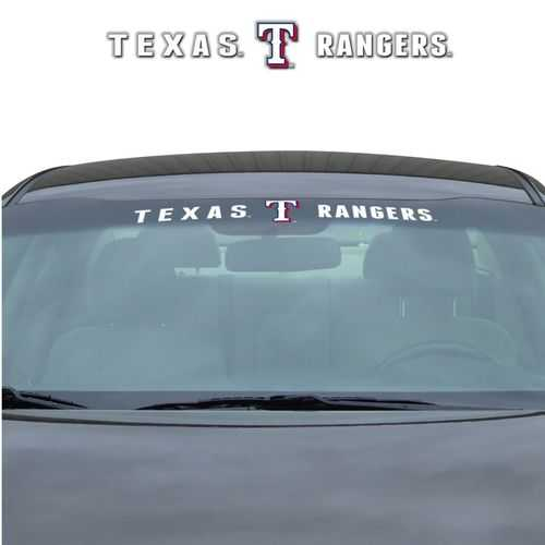 Texas Rangers Decal 35x4 Windshield Special Order