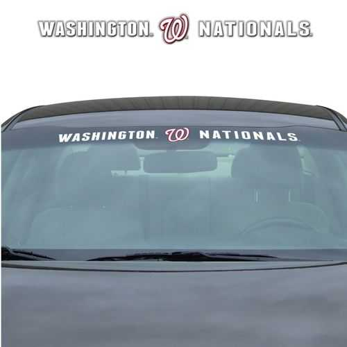 Washington Nationals Decal 35x4 Windshield Special Order