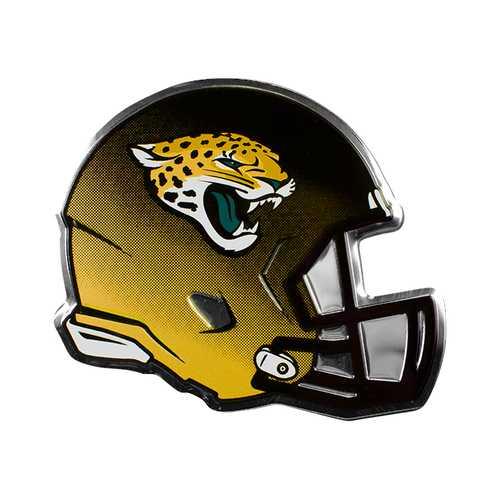 Jacksonville Jaguars Auto Emblem Helmet Design