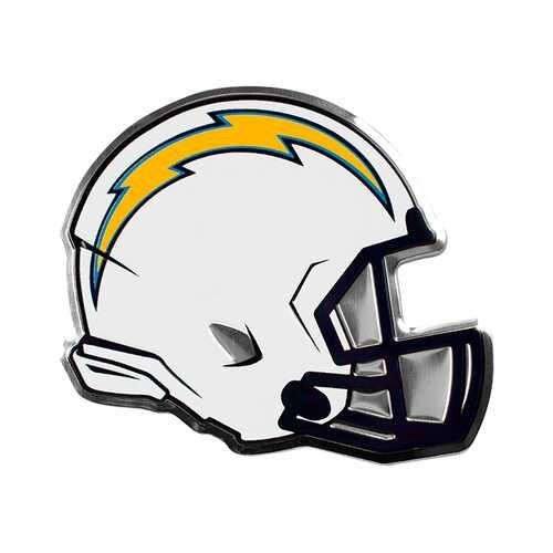 San Diego Chargers Auto Emblem Helmet Design
