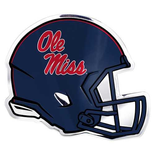 Mississippi Rebels Auto Emblem Helmet Design