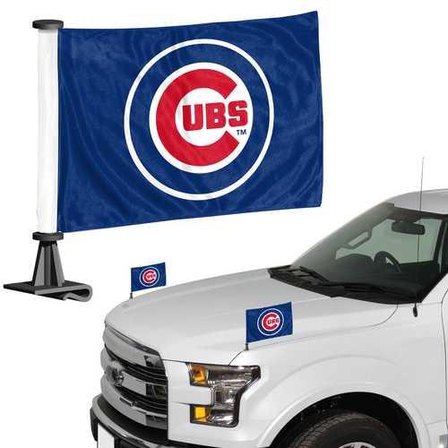 Chicago Cubs Flag Set 2 Piece Ambassador Style