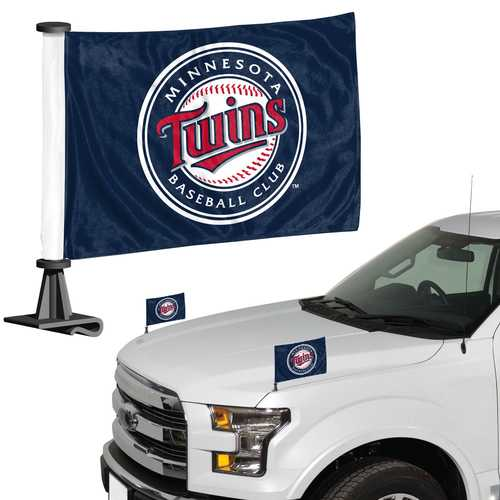 Minnesota Twins Flag Set 2 Piece Ambassador Style