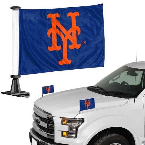 New York Mets Flag Set 2 Piece Ambassador Style