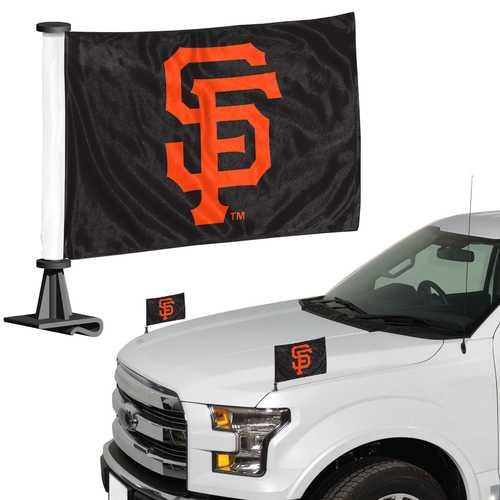 San Francisco Giants Flag Set 2 Piece Ambassador Style