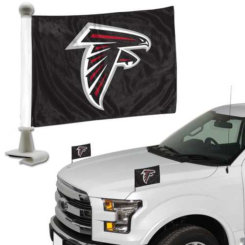 Atlanta Falcons Flag Set 2 Piece Ambassador Style