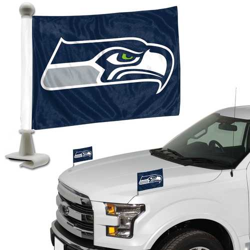 Seattle Seahawks Flag Set 2 Piece Ambassador Style