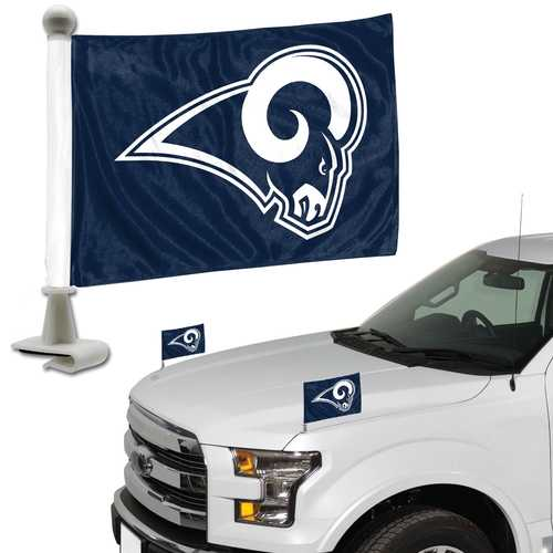 Los Angeles Rams Flag Set 2 Piece Ambassador Style