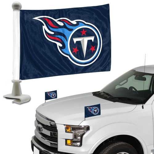 Tennessee Titans Flag Set 2 Piece Ambassador Style