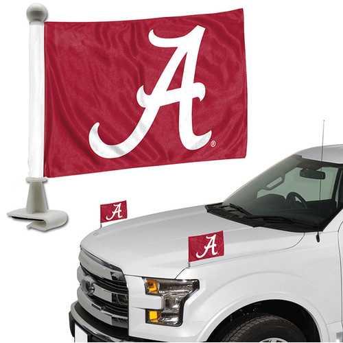 Alabama Crimson Tide Flag Set 2 Piece Ambassador Style