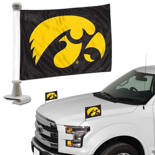 Iowa Hawkeyes Flag Set 2 Piece Ambassador Style