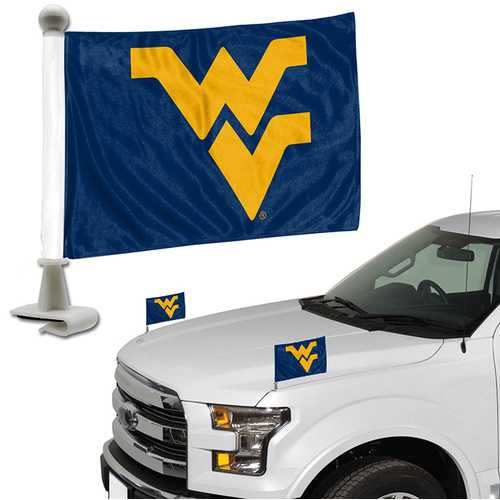 West Virginia Mountaineers Flag Set 2 Piece Ambassador Style