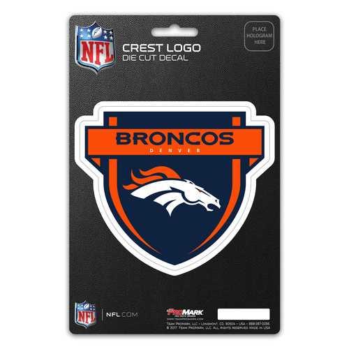 Denver Broncos Decal Shield Design