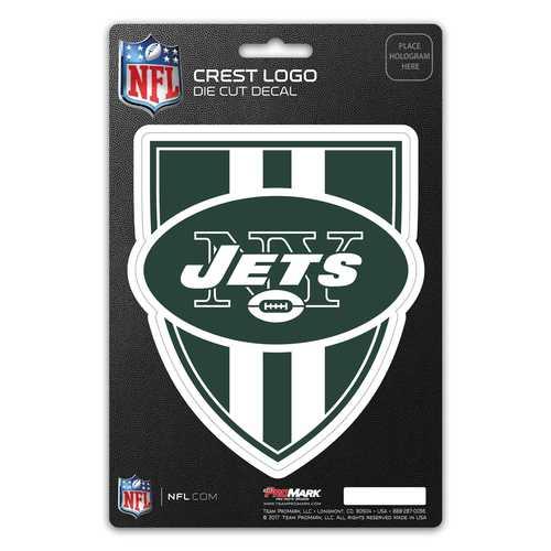 New York Jets Decal Shield Design