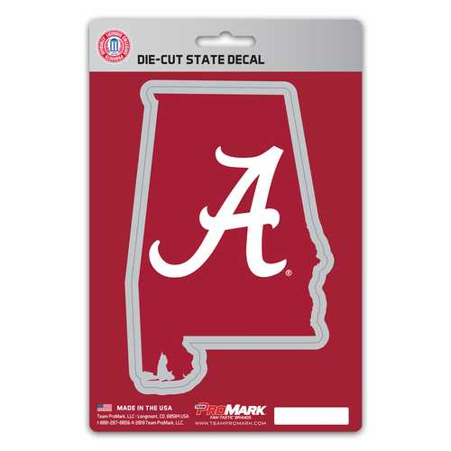 Alabama Crimson Tide Decal State Design
