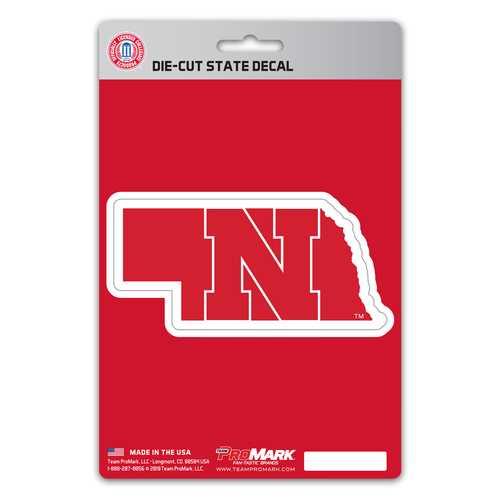 Nebraska Cornhuskers Decal State Design