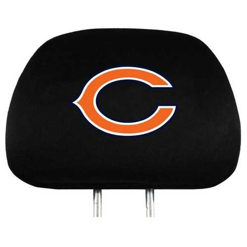 Chicago Bears Headrest Covers