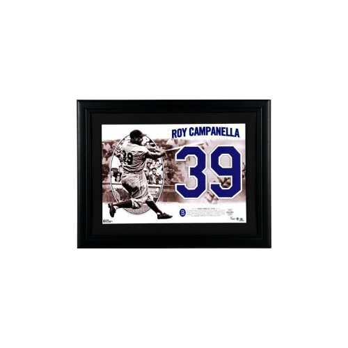 Brooklyn Dodgers Roy Campanella Legendary Jersey Numbers Collection - 3 Time NL MVP