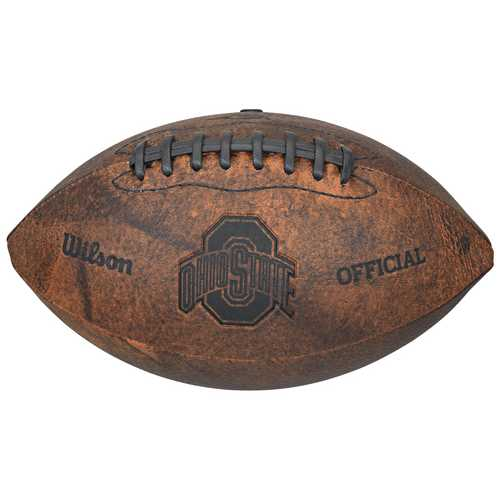 Ohio State Buckeyes Football - Vintage Throwback - 9 Inches