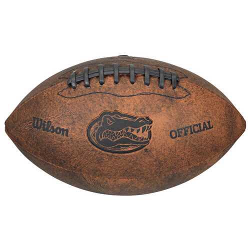 Florida Gators Football - Vintage Throwback - 9 Inches