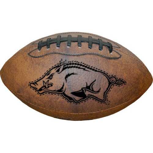 Arkansas Razorbacks Football - Vintage Throwback - 9 Inches