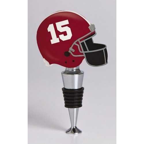 Alabama Crimson Tide Football Helmet Wine Bottle Stopper