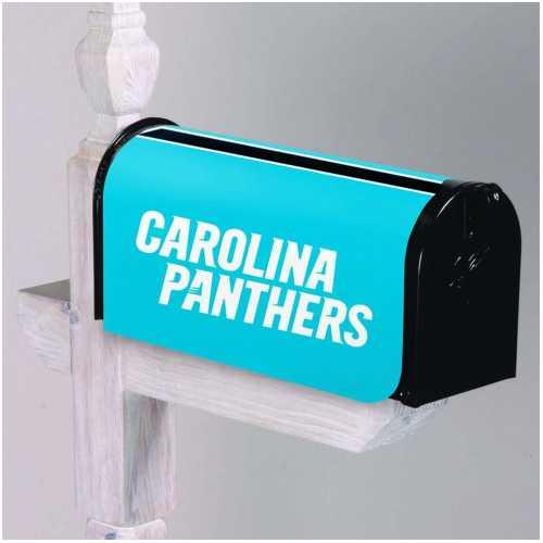 Carolina Panthers Mailbox Cover
