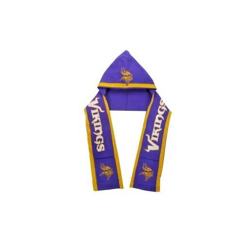 Minnesota Vikings Team Stripe Hoody Scarf