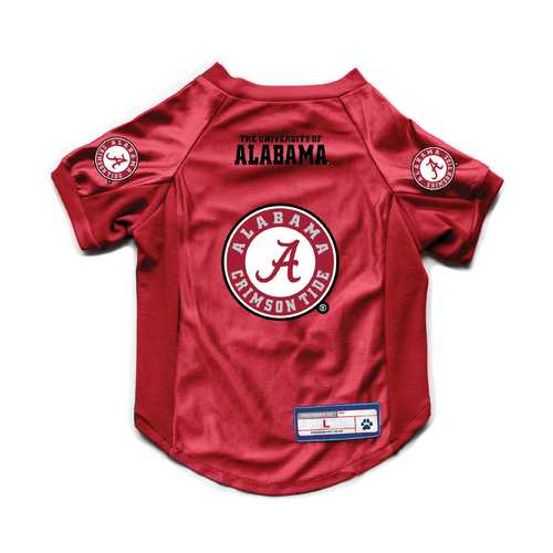 Alabama Crimson Tide Pet Jersey Stretch Size S