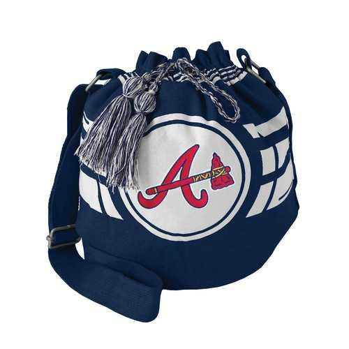 Atlanta Braves Bag Ripple Drawstring Bucket Style Special Order