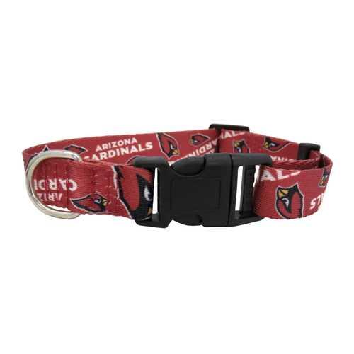 Arizona Cardinals Pet Collar Size S