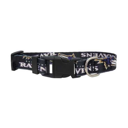 Baltimore Ravens Pet Collar Size M