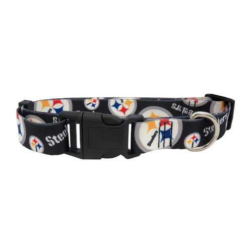 Pittsburgh Steelers Pet Collar Size M