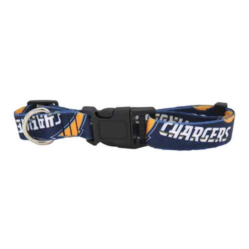 Los Angeles Chargers Pet Collar Size L