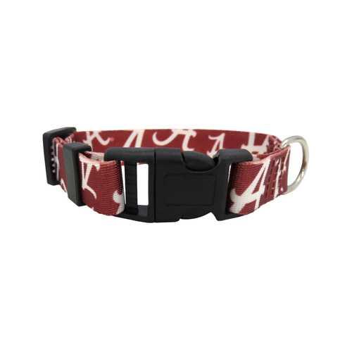 Alabama Crimson Tide Pet Collar Size M