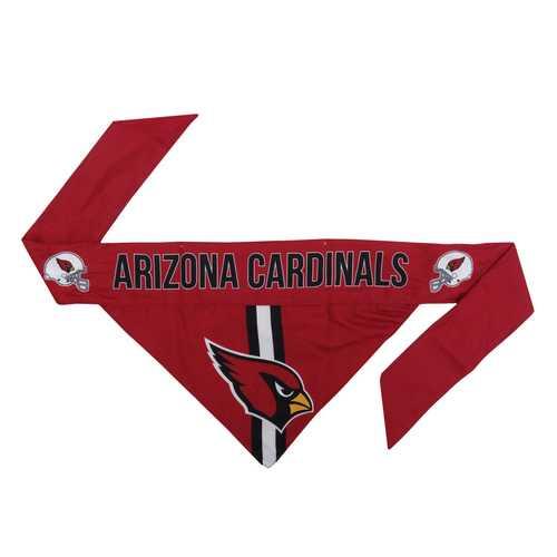 Arizona Cardinals Pet Bandanna Size XS