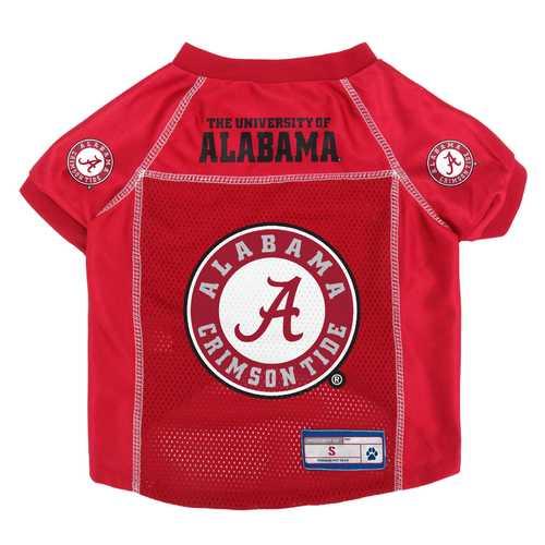 Alabama Crimson Tide Pet Jersey Size S
