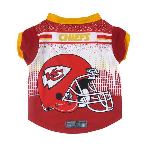 Kansas City Chiefs Pet Performance Tee Shirt Size L