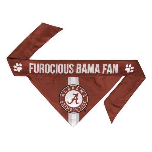 Alabama Crimson Tide Pet Bandanna Size S