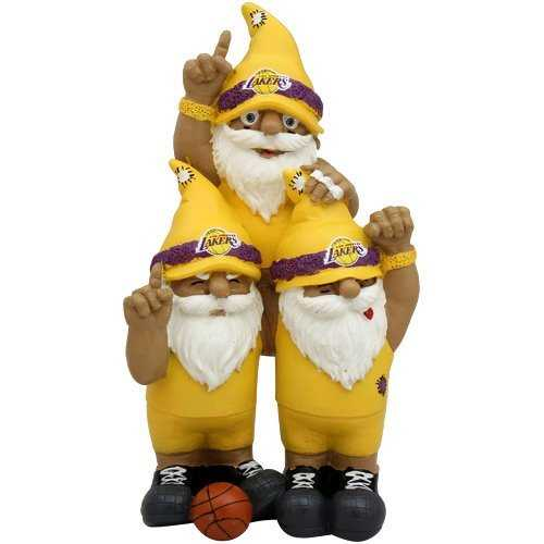 Los Angeles Lakers Garden Gnome - Team Celebration