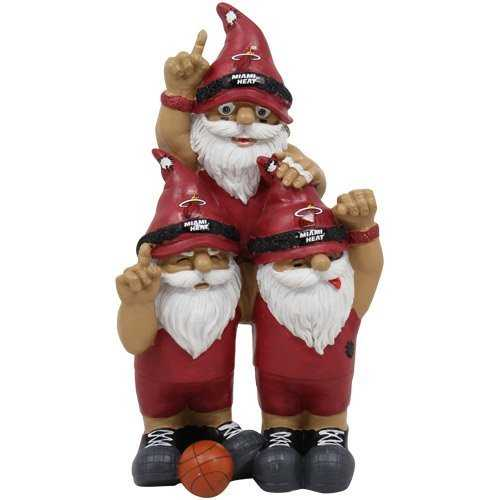 Miami Heat Garden Gnome - Team Celebration