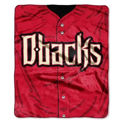 Arizona Diamondbacks Blanket 50x60 Raschel Jersey Design Special Order