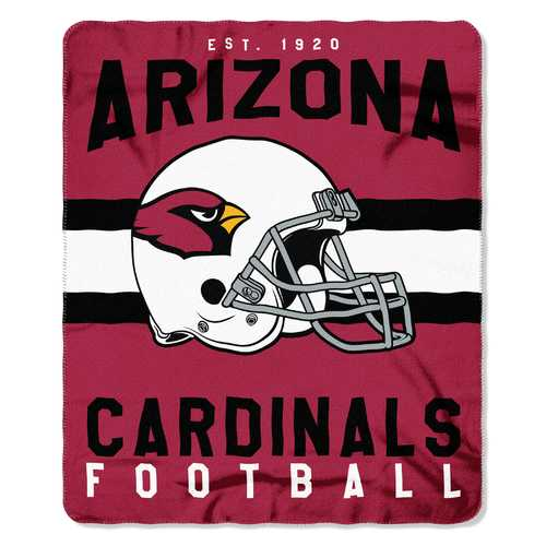 Arizona Cardinals Blanket 50x60 Fleece Singular Design