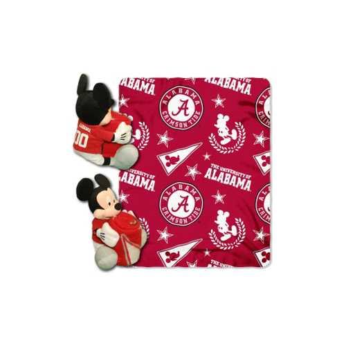 Alabama Crimson Tide Blanket Disney Hugger