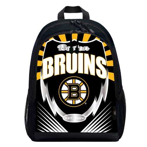 Boston Bruins Backpack Lightning Style Special Order