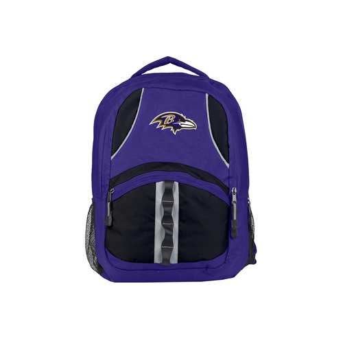 Baltimore Ravens Backpack Captain Style Purple and Black