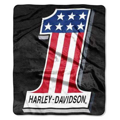 Harley-Davidson Blanket 50x60 Silk Touch Topnotch Design